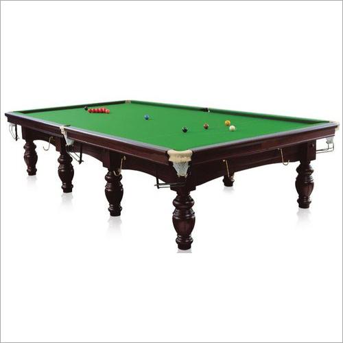 Green Italian Slate Snooker Table
