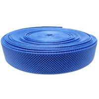 40 Mm Designer Niwar Tapes  Ss 0372 Spg Blue Pantone 18-4250 Tpg Indigo Bunting