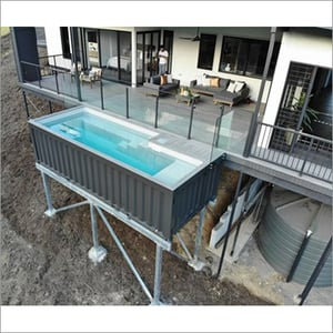 Shipping Container Swimming Pools