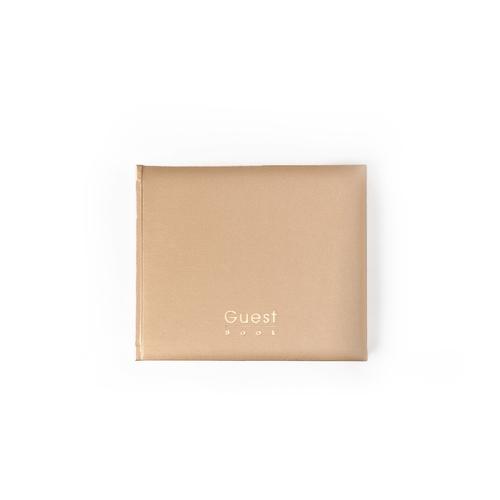 Mahavir Guest Book - Hard Bound - Medium Size (18cm x 22cm) - (Gold)
