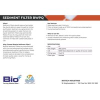 Sediment Filter