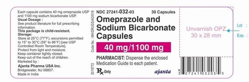 Omeprazole and Sodium Bicarbonate Capsules