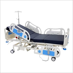Fully Motorized ICU Bed (Remote Operated) - Linear Actuators