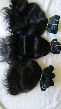 Machine Weft Hair Extension  and weaves