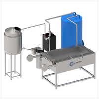 Rectangular Batch Fryer Machine