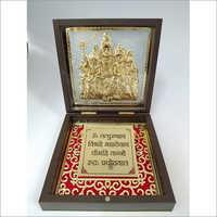 Copper Shankar Family Gold Plated Photo Frame Box