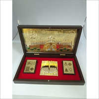 Copper Royal Ranakpur Gold Plated Photo Frame Box, Size 4 X 8 Inch