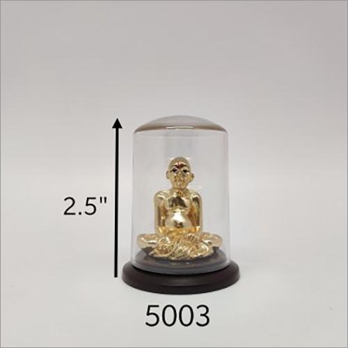 Gold Plated Gajanan Maharaj Idol