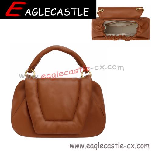 Factory Direct Wholesale OEM Handbag PU Shoulder Handbag for Women Fashion Single Zipper HOBO