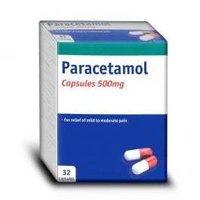 Paracetamol capsule