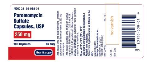 Paromomycin Sulfate Capsule