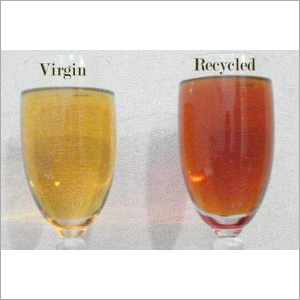 Base oil difference virgin & recycled