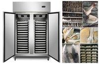 QF-8005 Hotel Kitchen Equipment Stainless Steel Gastronom Pans Refrigerator Chiller Freezer with Trays