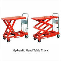 Hydraulic Hand Table Truck