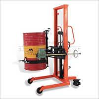 Drum Stacker and Tilter Machine