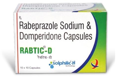 Rabeprazole Sodium & Domperidone Capsule