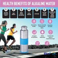 1 Litre Ss Alkaline, Antioxidant, Antibacterial, Mineralising Aaa Bottle