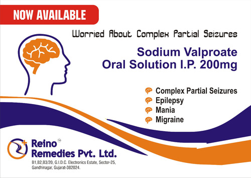 Sodium Valproate Oral Solution l.P. 200mg