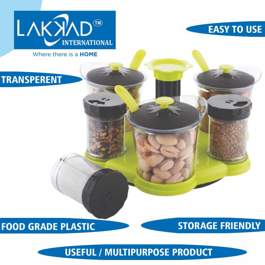 Multi Purpose Jars With Stand
