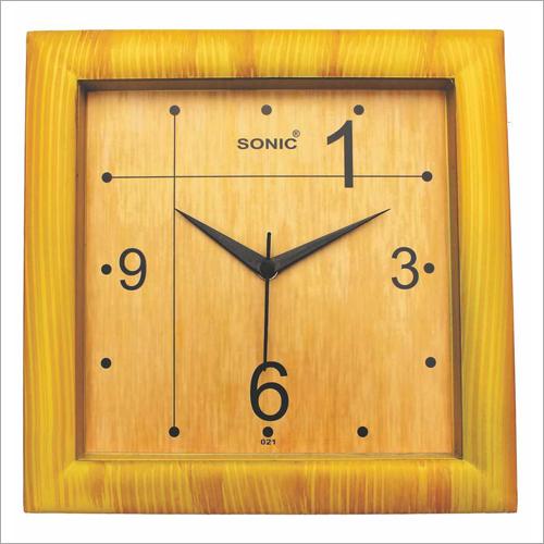 10 Inch Square Wall Clock