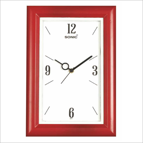 8 X 12 Inch Rectangular Wall Clock