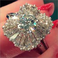 Sparkling Diamond Ring