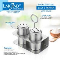 Salt Pepper With Stand