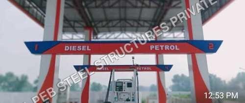 Canopy for petrol pump