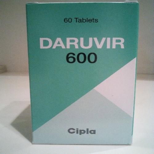 Daruvir 600mg Tablet (Darunavir (600mg)