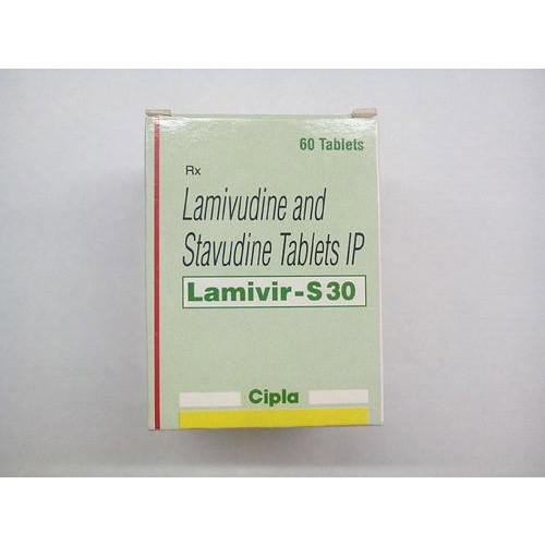 LAMIVIR S TABLET (Lamivudine (150mg) + Stavudine (30mg)