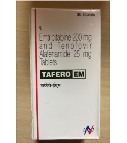 Tafero Em (Emtricitabine (200mg) + Tenofovir Disoproxil Fumarate (25mg)