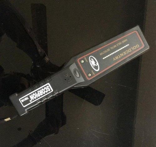 Hand Held Metal Detector Scorpion 700140