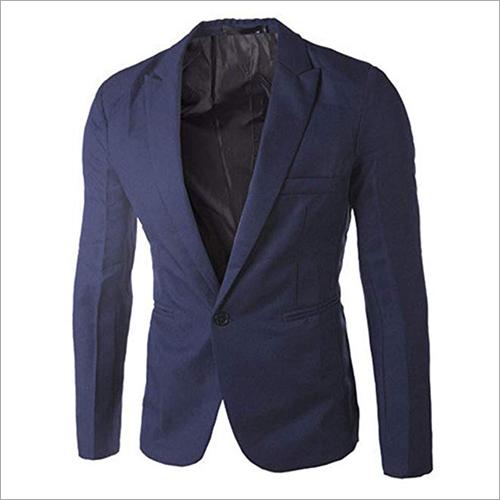 Narvey Wool Blue Lining Blazer