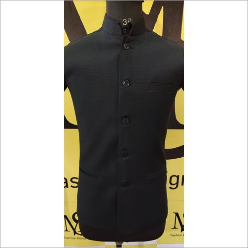 Mens Black Color Jodhpuri Jacket