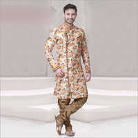 Mens Fancy Print Sherwani