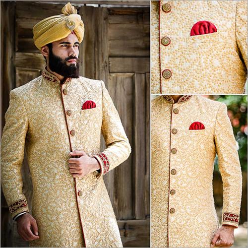 Mens Fancy Wedding Sherwani