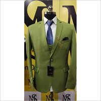 Mens Light Green Tuxedo Waistcoat