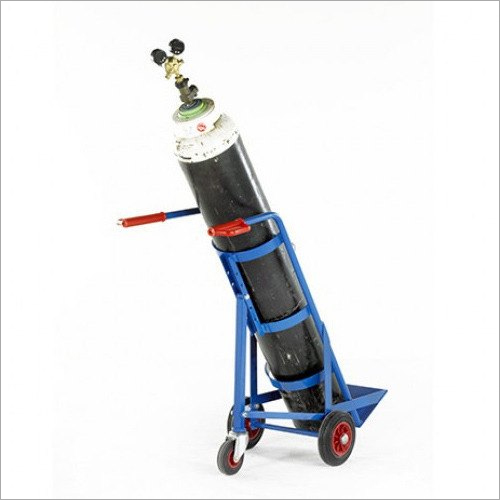 Mild Steel Gas Cylinder Trolley