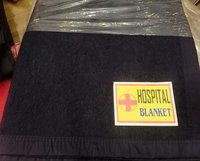 70% Woolen Hospital Blankets 2200g 60*90inches