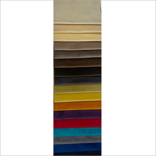 Imported Plain Suede Fabric