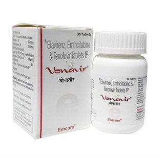 Vonavir (Efavirenz, Emtricitabine & Tenofovir)