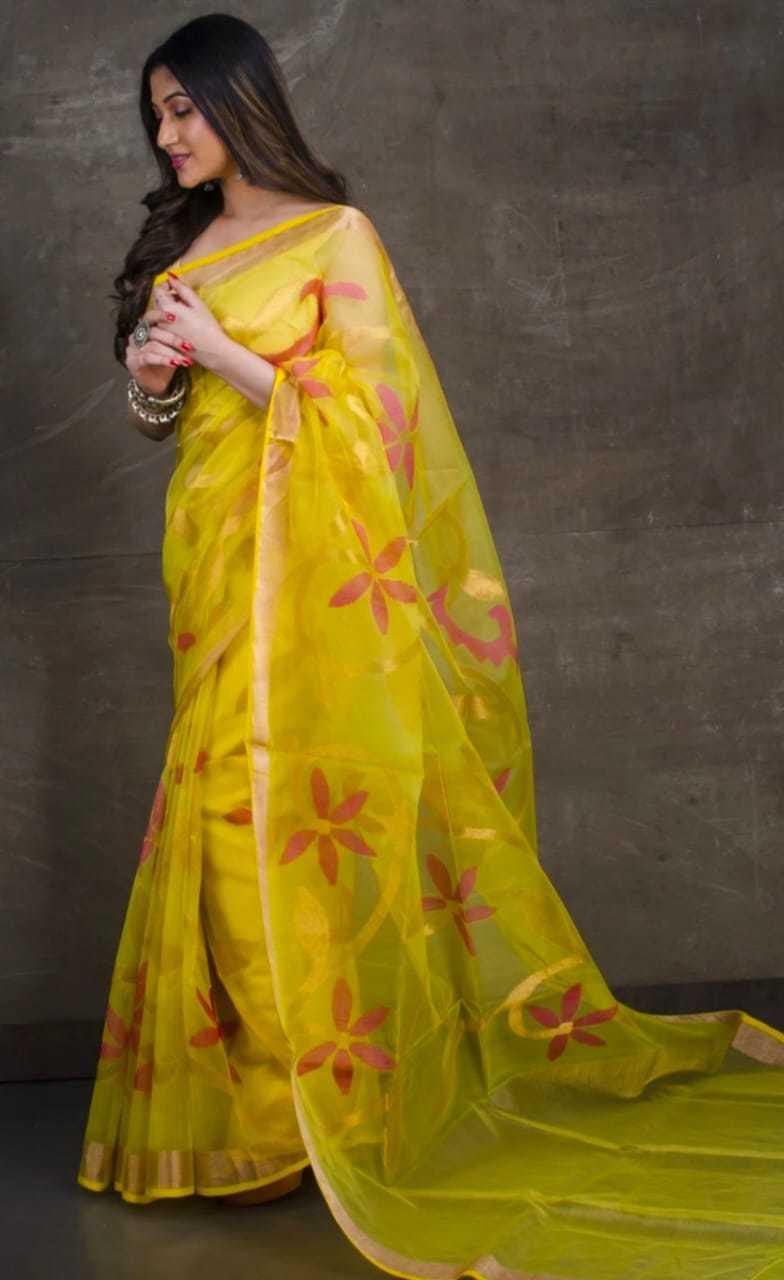 Rasum Moslin Jamdani Saree 3900