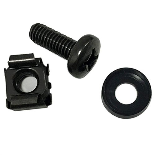 Cage Nut Screw Washer Assembly