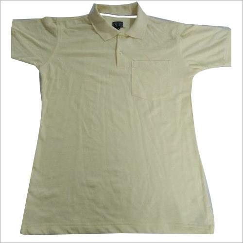 Light Yellow Polo T-Shirt