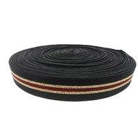 25 Mm Niwar Tapes Black Ss Bm 120 Lurex Gold Zari Ss Bm 001 Wjasab Copper Zari