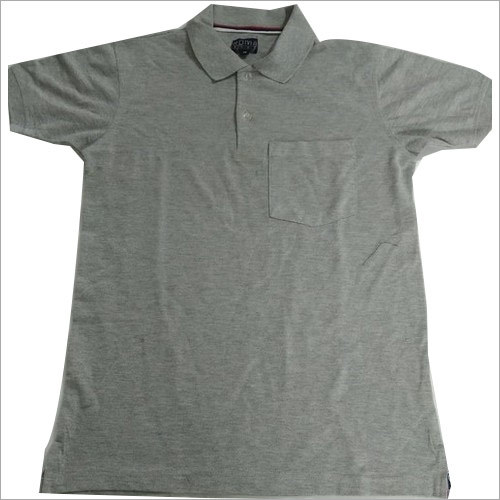 Grey Polo T-Shirt