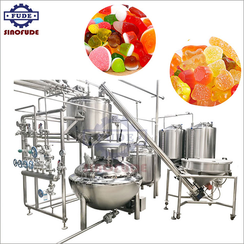 Automatic Gummy Candy Weighing and Mixing System