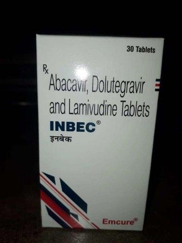INBEC TABLET (Abacavir Sulphate 600 mg / Lamivudine 300 mg / Dolutegravir 50 mg