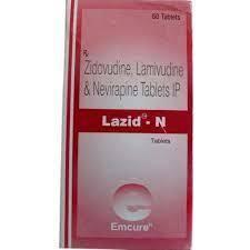 LAZID N TABLET (Zidovudine, Lamivudine & Nevirapine)