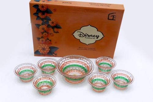 7 Pcs Pudding Set Brick Deco Disny Box